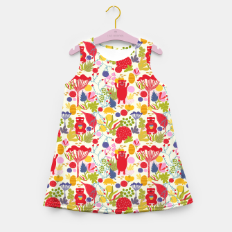 Thumbnail image of Bear forrest Girl's Summer Dress, Live Heroes