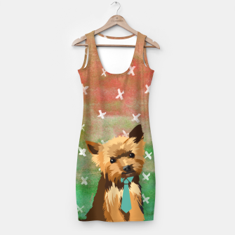 Thumbnail image of Yorkshire Terrier Watercolour Simple Dress, Live Heroes