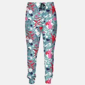 Thumbnail image of Cuddly bunny forrest Sweatpants, Live Heroes