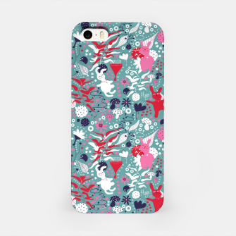 Thumbnail image of Cuddly bunny forrest iPhone Case, Live Heroes