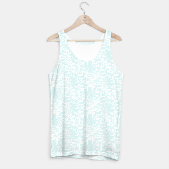Thumbnail image of White leaves Tank Top, Live Heroes