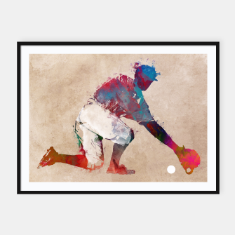 Thumbnail image of baseball player Plakaty w ramie , Live Heroes