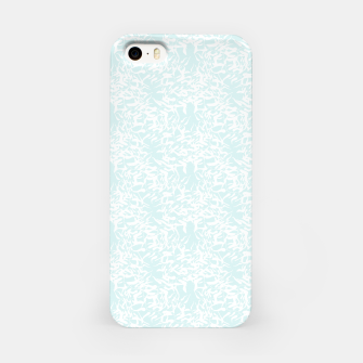 Thumbnail image of White leaves iPhone Case, Live Heroes