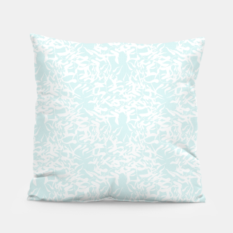 Thumbnail image of White leaves Pillow, Live Heroes