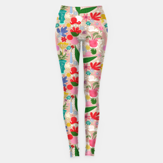 Thumbnail image of For the snails - Pattern Leggings, Live Heroes