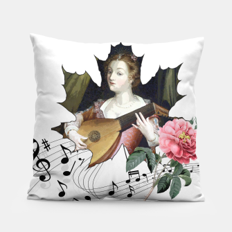 Miniaturka Allegory of music Pillow, Live Heroes