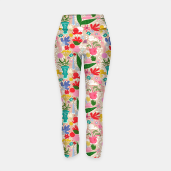 Thumbnail image of For the snails - Pattern Yoga Pants, Live Heroes