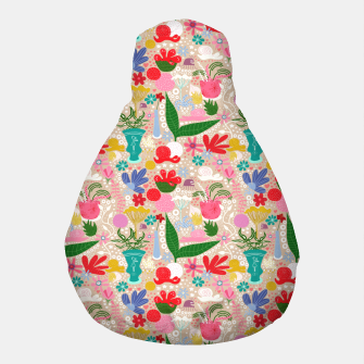 Thumbnail image of For the snails - Pattern Pouf, Live Heroes