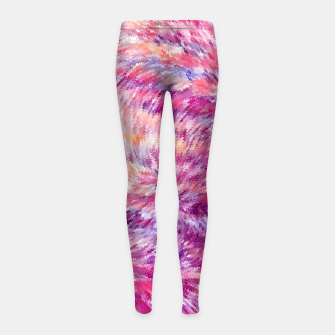 Miniaturka Abstract Girl's Leggings, Live Heroes