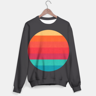 Thumbnail image of Retro sunset Sweater, Live Heroes