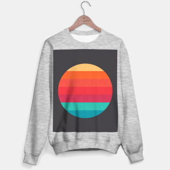 Thumbnail image of Retro sunset Sweater regular, Live Heroes