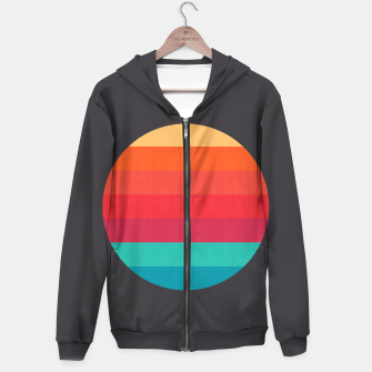 Thumbnail image of Retro sunset Hoodie, Live Heroes