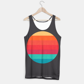 Thumbnail image of Retro sunset Tank Top, Live Heroes