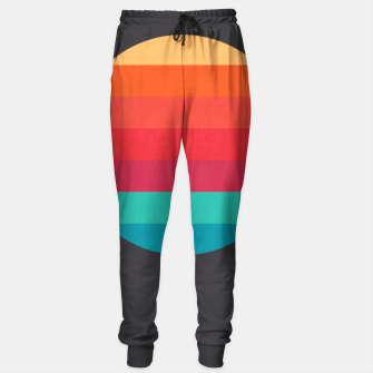 Thumbnail image of Retro sunset Sweatpants, Live Heroes
