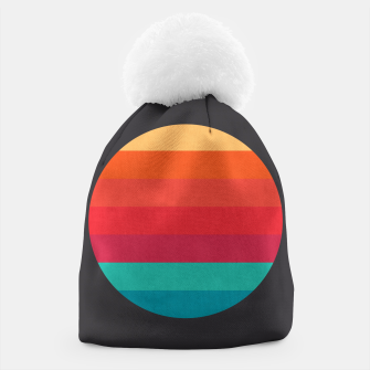 Thumbnail image of Retro sunset Beanie, Live Heroes
