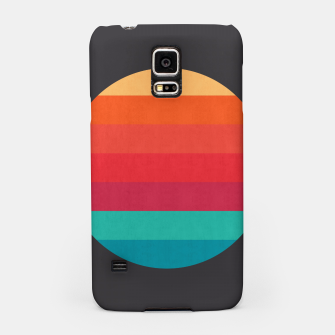 Thumbnail image of Retro sunset Samsung Case, Live Heroes