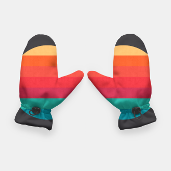 Thumbnail image of Retro sunset Gloves, Live Heroes