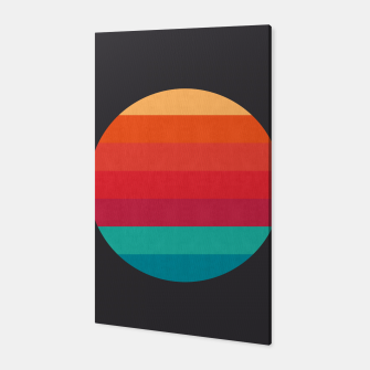 Thumbnail image of Retro sunset Canvas, Live Heroes