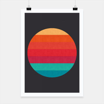 Thumbnail image of Retro sunset Poster, Live Heroes