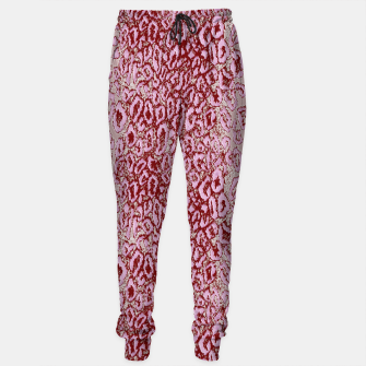 Thumbnail image of  Pink leopard Sweatpants, Live Heroes