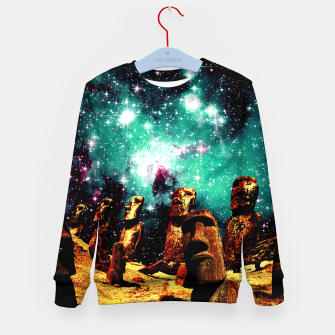 Thumbnail image of Sky Watchers Kid's Sweater, Live Heroes