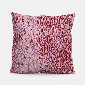 Thumbnail image of  Pink leopard Pillow, Live Heroes