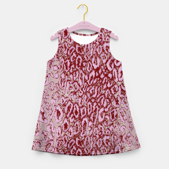 Thumbnail image of  Pink leopard Girl's Summer Dress, Live Heroes