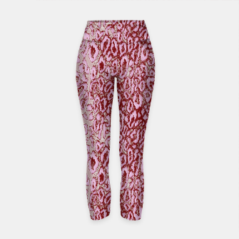 Thumbnail image of  Pink leopard Yoga Pants, Live Heroes