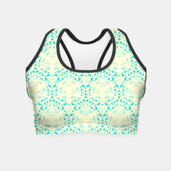 Thumbnail image of Pastel Turqouise Sport Crop Top 1, Live Heroes