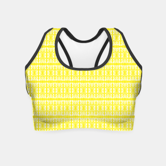 Thumbnail image of Yellow Sport Crop Top 1, Live Heroes