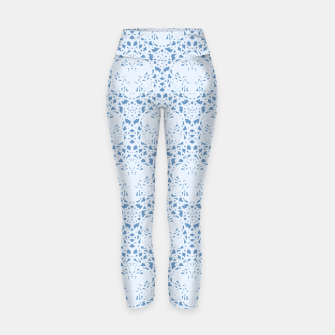 Thumbnail image of Pastel Blue Yoga Pant 1, Live Heroes