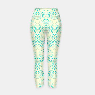Thumbnail image of Pastel Turqouise Yoga Pant 1, Live Heroes
