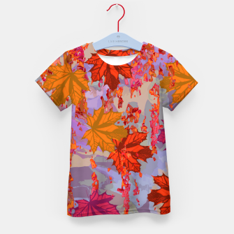 Thumbnail image of Autumn Kid's T-shirt, Live Heroes