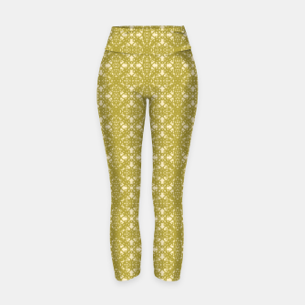 Thumbnail image of Flower Bronze Yoga Pant 1, Live Heroes