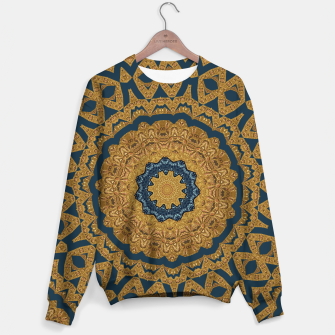 Miniatur Gold and azure Sweater, Live Heroes