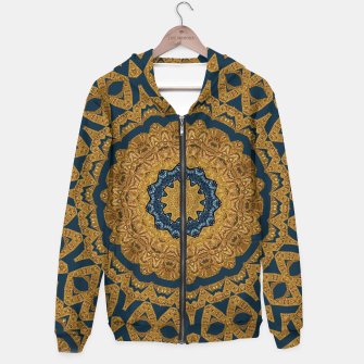 Thumbnail image of Gold and azure Hoodie, Live Heroes