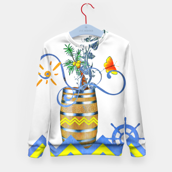 Thumbnail image of Let's take the journey Kid's Sweater, Live Heroes