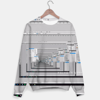Thumbnail image of ∞ //lowres Sweater, Live Heroes