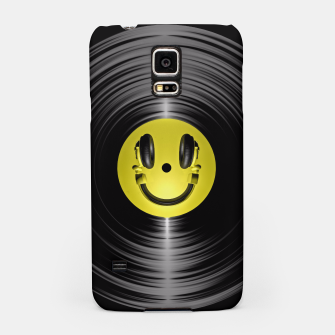 Miniaturka Vinyl Headphone Smiley Samsung Case, Live Heroes