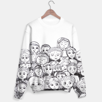 Thumbnail image of Funny Faces Sweater, Live Heroes