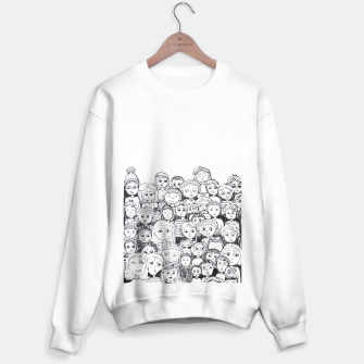 Imagen en miniatura de Funny Faces Sweater regular, Live Heroes