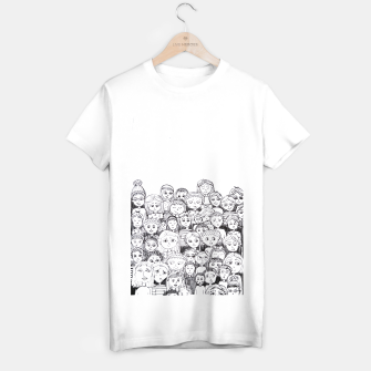 Miniatur Funny Faces T-shirt regular, Live Heroes