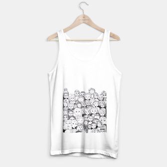 Imagen en miniatura de Funny Faces Tank Top regular, Live Heroes