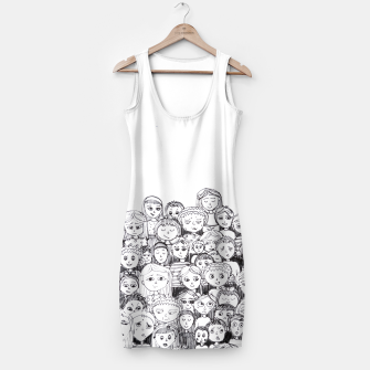 Thumbnail image of Funny Faces Simple Dress, Live Heroes