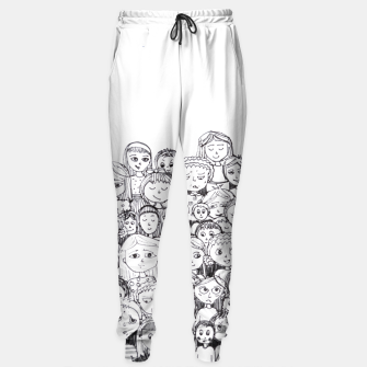 Thumbnail image of Funny Faces Sweatpants, Live Heroes