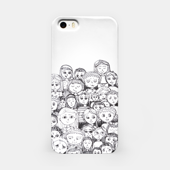 Imagen en miniatura de Funny Faces iPhone Case, Live Heroes