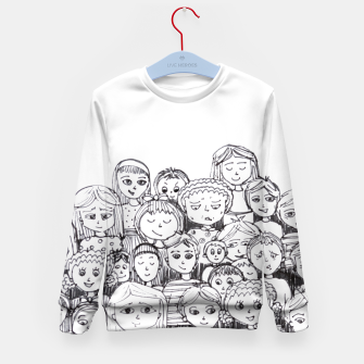 Imagen en miniatura de Funny Faces Kid's Sweater, Live Heroes