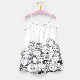 Imagen en miniatura de Funny Faces Girl's Dress, Live Heroes