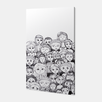 Thumbnail image of Funny Faces Canvas, Live Heroes