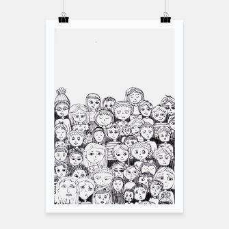 Thumbnail image of Funny Faces Poster, Live Heroes